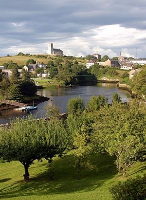 The River Erne in Ballyshannon, Co. Donegal, I...
