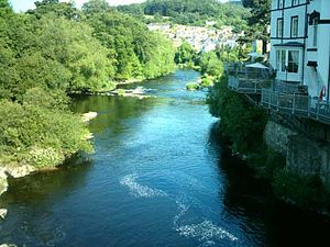 River Dee Valley at Llangollen