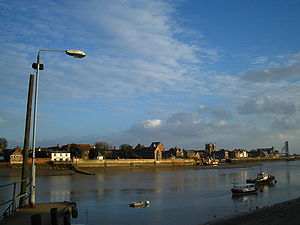 The River Great Ouse in King's Lynn The photog...