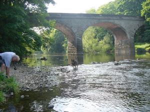 River Wharfe at Linton in North Yorkshire