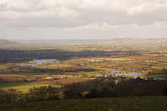 River Stour from Okeford Hill