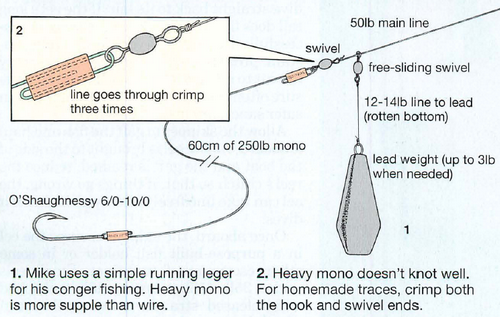 conger fishing rig