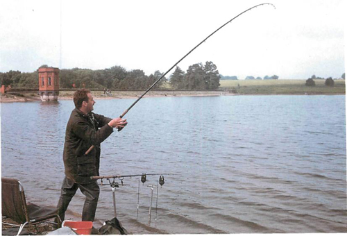 10 fishing at Sywell Reservoir in Northamptonshire