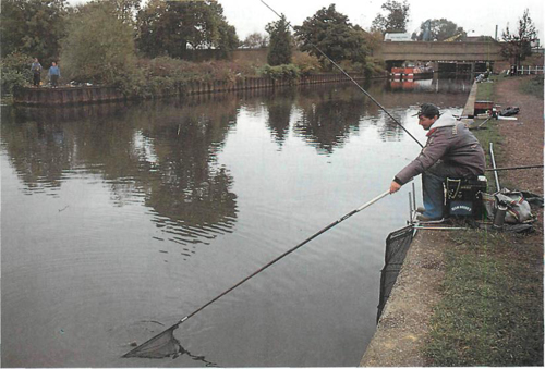 28 fishing at Ponders End