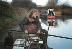 Dylan Vincent on the Oxford Canal at Wolvercote
