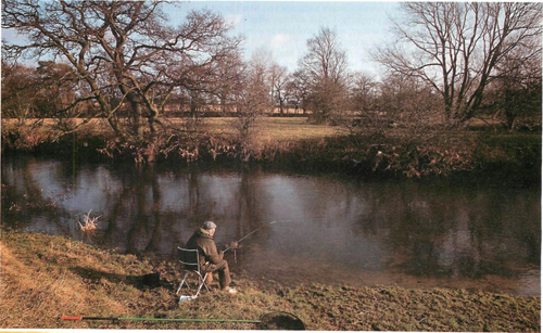 31 angling at River Cherwell