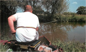 5 fishing Shropshire Union Canal outside Market Drayton