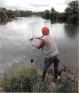 7 fishing on Upper Loade Lock on the river severn