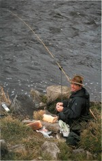 Roy James on the Ribble