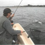 Angling for trout on Draycote Water 005