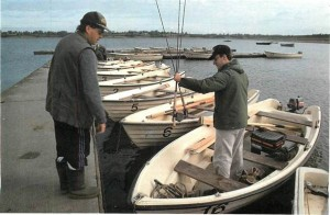 Angling for trout on Draycote Water 009