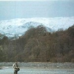 Fishing for grayling on Bala Lake Lyn Tegid 001