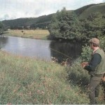 Fishing for grayling on the River Dee 003
