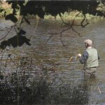Fishing for grayling on the River Dee 006