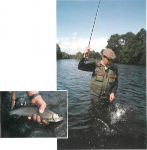 Fishing for grayling on the River Dee 008