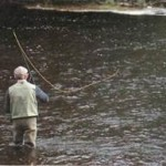 Fishing for grayling on the River Dee 009