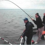 Fishing off Money Point power station 007