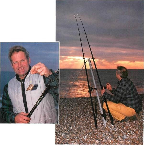 Night fishing on Chesil Beach