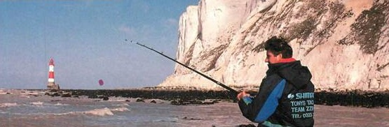 Fishing at Beachy Head