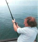 Angling in Cardigan Bay, Wales