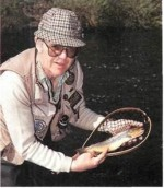 Fishing on the River Ore in Yorkshire