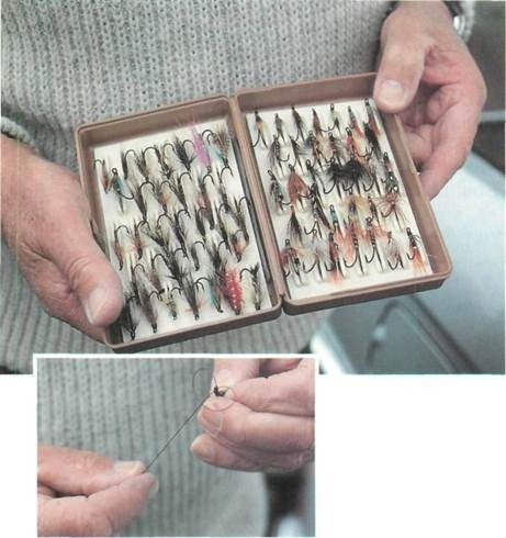 selection of Arthur's flies