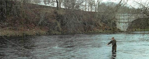 The bed of the Spey