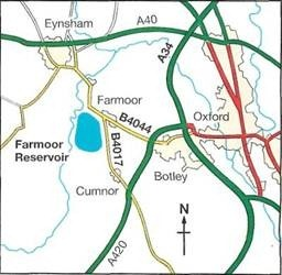 map and directions to Farmoor 2