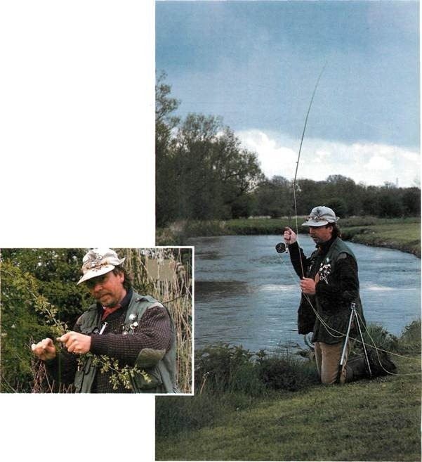 Fishing on the River Avon with Charles Jardine
