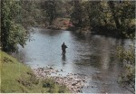 Fishing on the River Usk